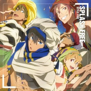 STYLE FIVE「SPLASH FREE」収録