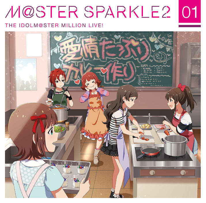 THE IDOLM@STER MILLION LIVE! 「M@STER SPARKLE2 01」